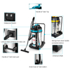 WL70 70L High Quality Industrial Backpack Vacuum Cleaner Industrial Cleaning Appliances